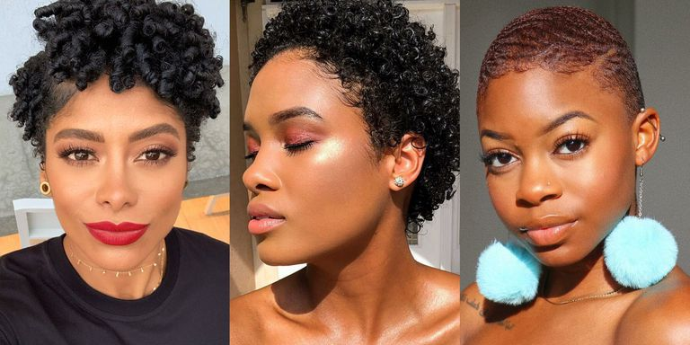 14 Short Natural Hairstyles To Try This New Year